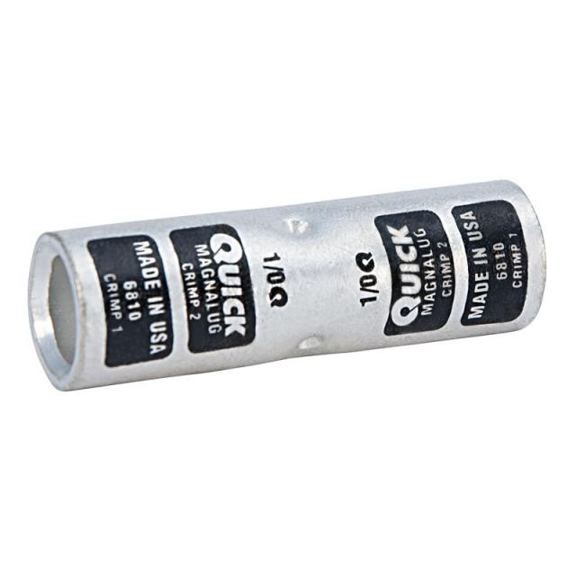 1/0 Gauge Magna Lug Butt Splice Connector