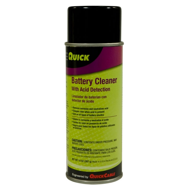 Battery Corrosion Cleaner with Acid Detection