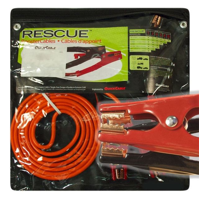 Light Duty 6 Gauge 16 Foot Jumper Cables