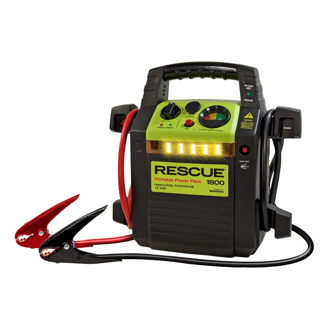 Rescue 1800 Jump Starter Pack Front View
