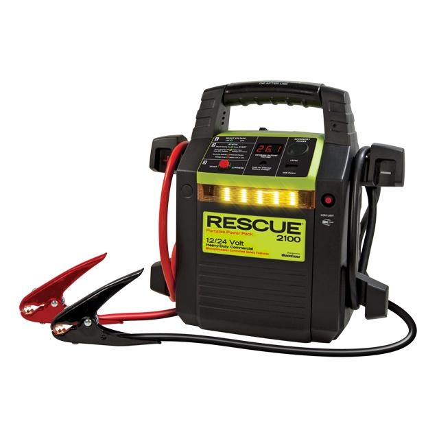 Rescue Pack 2100 - 12 / 24 Volt Jump Starter Pack