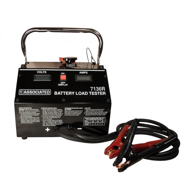 Associated Equipment 7136R, 1000 Amp Carbon Pile Battery Load Tester