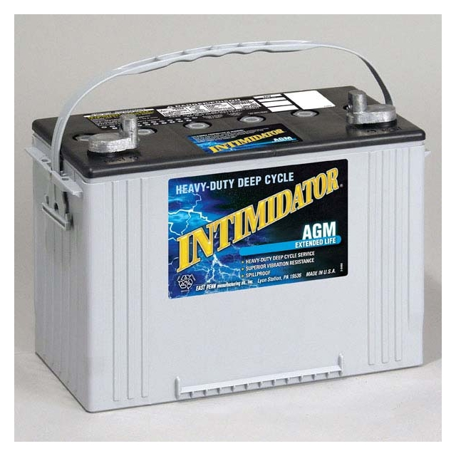 Intimidator 8A27 AGM Group Size 27 Battery