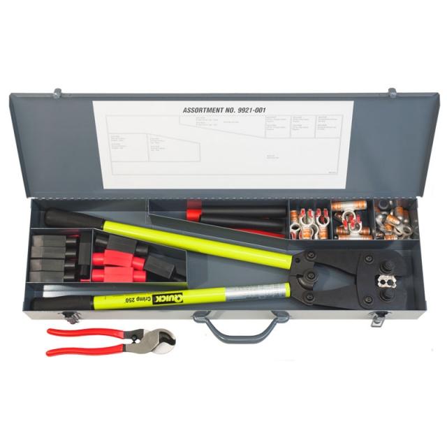 Heavy Duty 2/0 Gauge Field Repair Kit