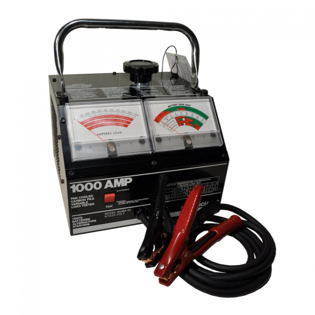 Associated Equipment Model 6036B-24 Carbon Pile Battery Load Tester for 6, 12 and 24 Volt batteries