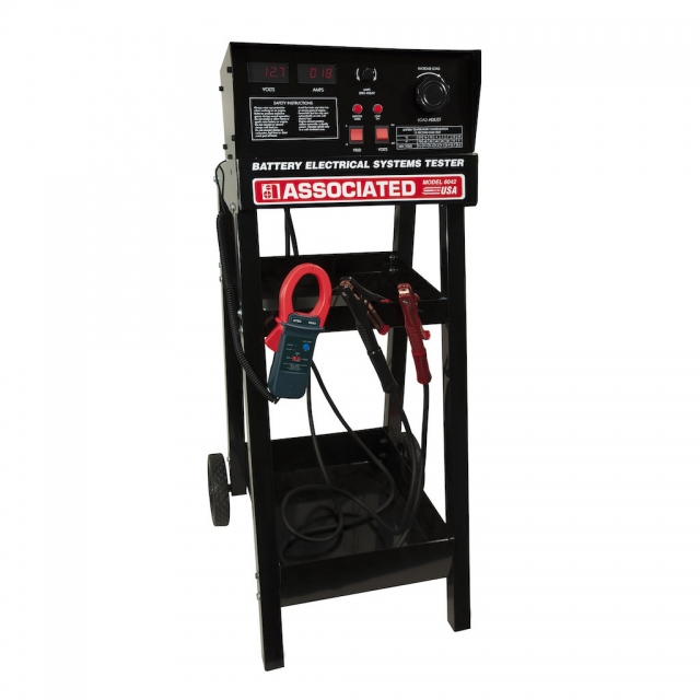 Associated Equipment Model 6042 Battery and Electrical System Tester for 12 and Volt Batteries and Starting and Charging Systems