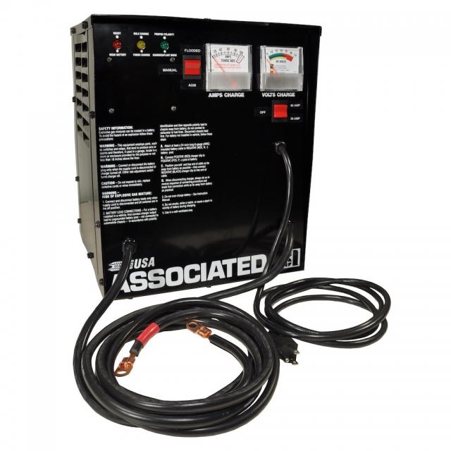 Associated Equipment Intellamatic Model 6066A Series Battery Charger