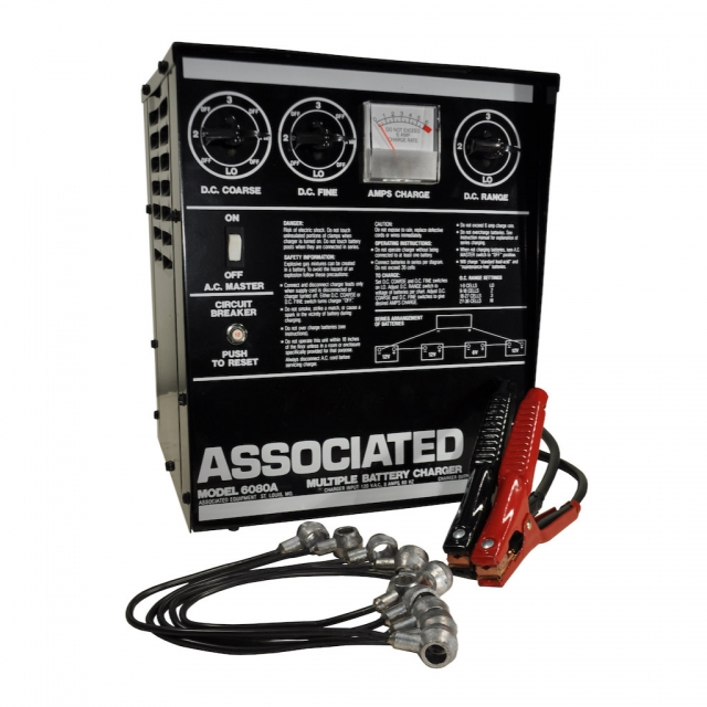 Associated Equipment Model 6080A Multiple Battery Series Charger