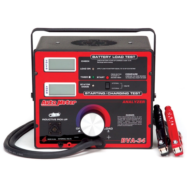 Auto Meter BVA-34 Carbon Pile Load Tester