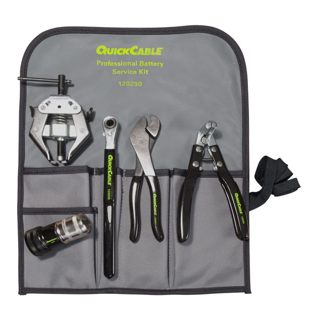 5-Piece Professional Battery Tool Kit