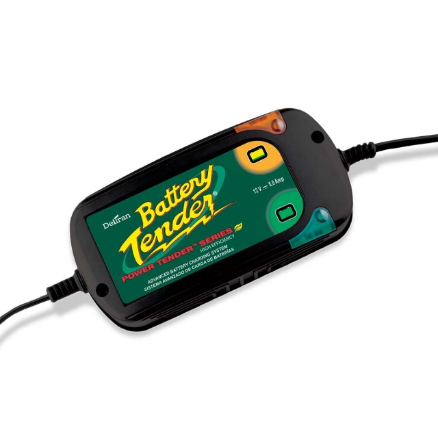 Battery Tender Power Tender Plus 12 Volt High Efficiency 022-0186G-DL-WH