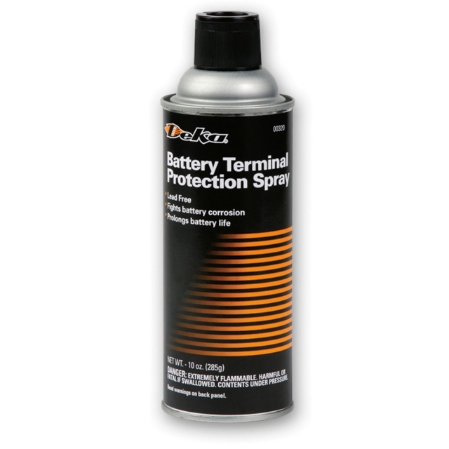 Deka Battery Terminal Protection Spray, 10 oz Aerosol Spray Can