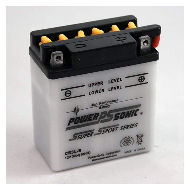 YB3L-B / CB3L-B High Performance Power Sports Battery