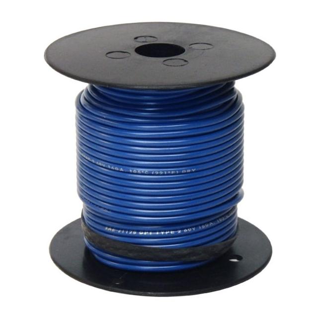 14 Gauge Dark Blue Wire - General Purpose Primary Wire