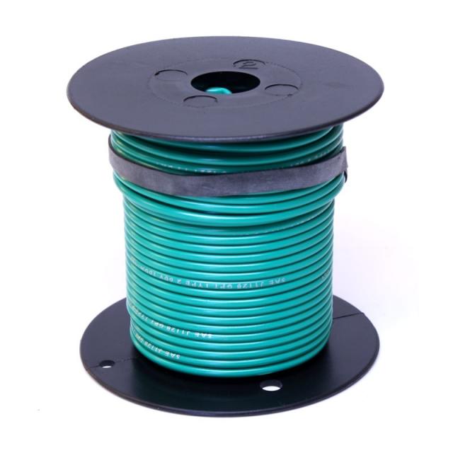 12 Gauge Dark Green Wire - General Purpose Primary Wire