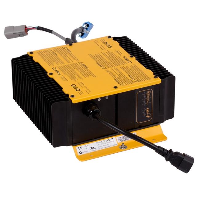 Delta-Q QuiQ 1000 On-Board Battery Charger, 72 Volt 12 Amp