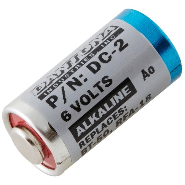 Innotek BAT-001 and PetSafe RFA-18 replacement dog collar battery. 6 Volt Alkaline.