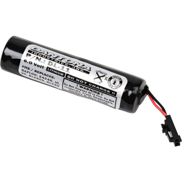 Saflok IC, S4240, SL2500, VC Door Lock Battery