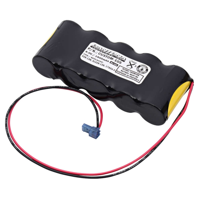 Baghelli 026-139 Emergency Lighting Battery