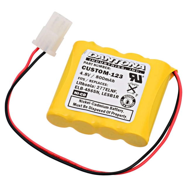 Lithonia ELB4865N Emergency Lighting Battery