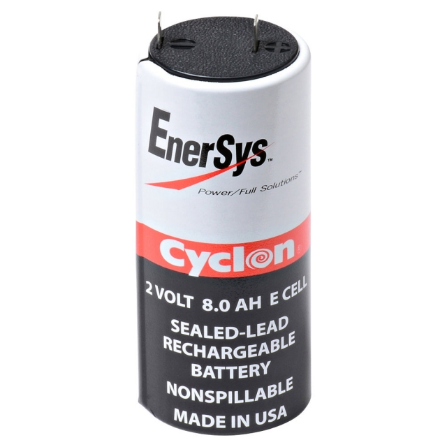 Enersys Cyclon E Cell Rechargeable Battery, 2 Volt 8 Ah