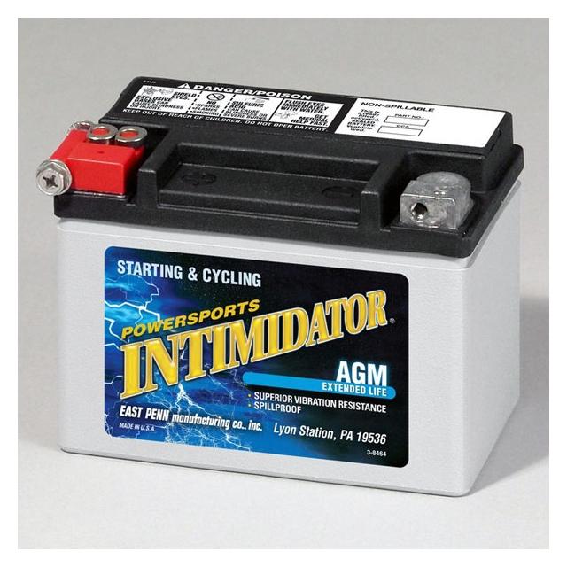 Deka Intimidator ETX9 AGM Power Sports Battery