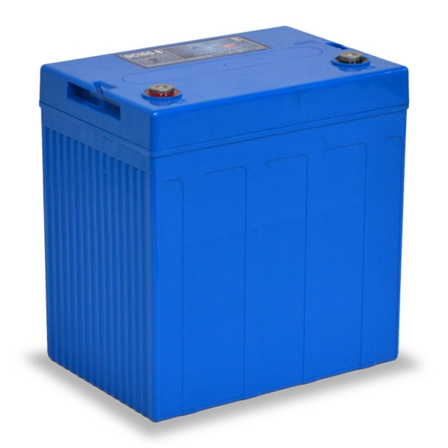 Fullriver DC160-8 Deep Cycle AGM Battery, Group Size GC2 8V