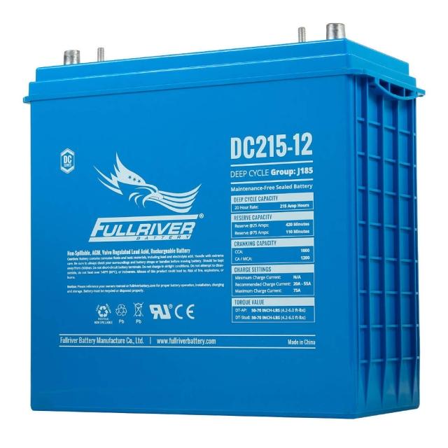 Fullriver DC215-12 Deep Cycle AGM Battery