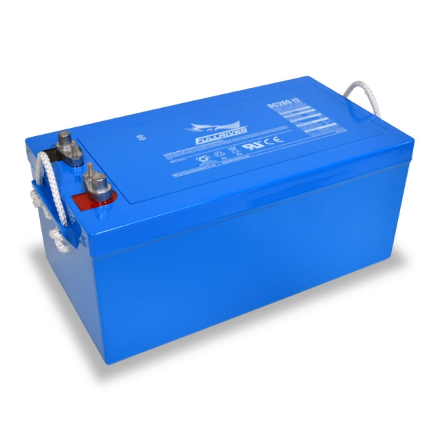 Fullriver DC260-12 Deep Cycle AGM Battery, Group Size 8D