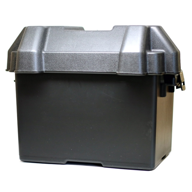 Group Size 24 Plastic Battery Box with easy locking lid