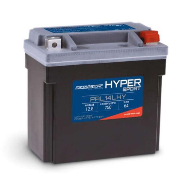 Hyper Sport PAL14LHY Lithium Power Sports Battery