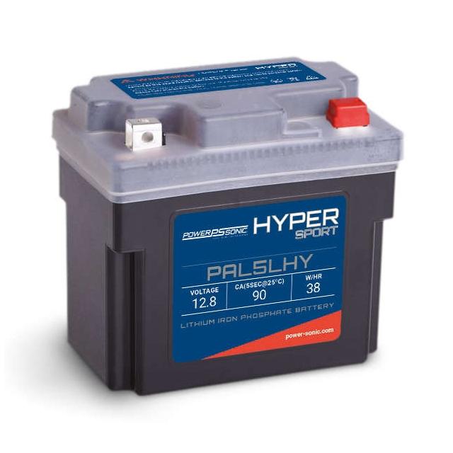 Hyper Sport PAL5LHY Lithium Power Sports Battery