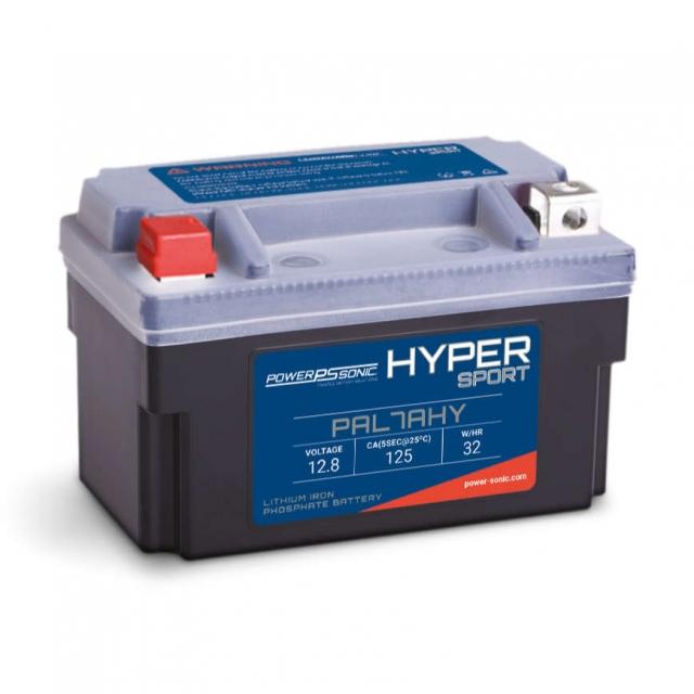 Hyper Sport PAL7AHY Lithium Power Sports Battery