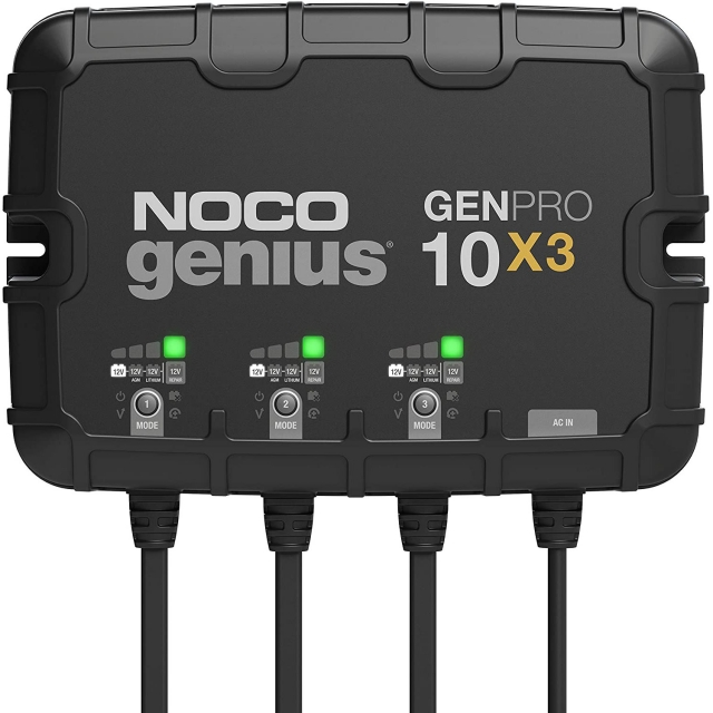 NOCO Genius Pro GENPRO10X3 On-Board Battery Charger