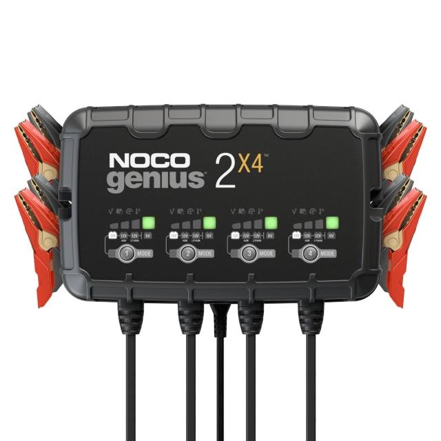 NOCO Genius GENIUS2X4 Quad Bank Battery Charger