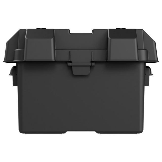 NOCO HM327BK Group Size 27 Plastic Battery Box Front