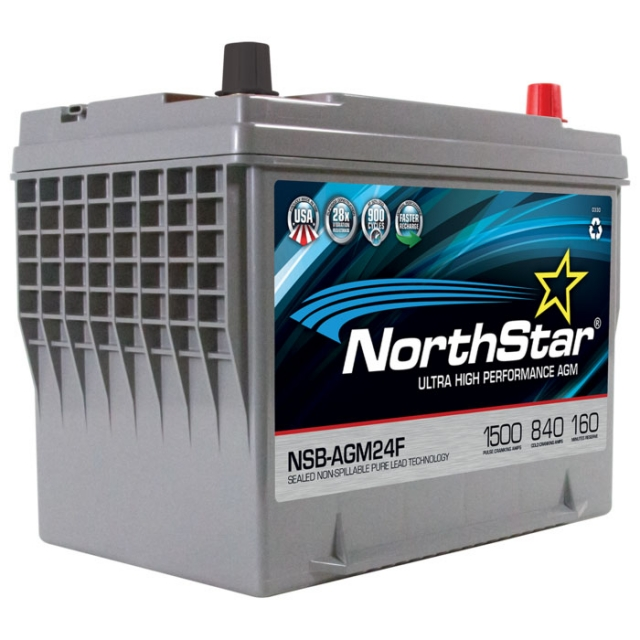 NorthStar NSB-AGM24F Group Size 24F Battery