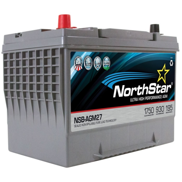 NorthStar NSB-AGM27 Group Size 27 Battery