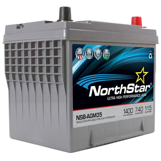 NorthStar NSB-AGM35 Group Size 35 Battery