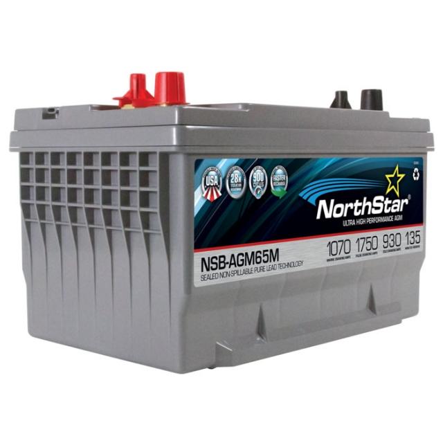 NorthStar NSB-AGM65M Group Size 65 Marine Battery