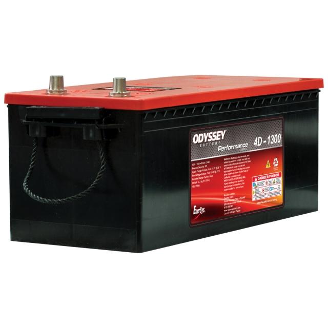Odyssey ODP-AGM4D (4D-1300) Group Size 4D AGM Battery