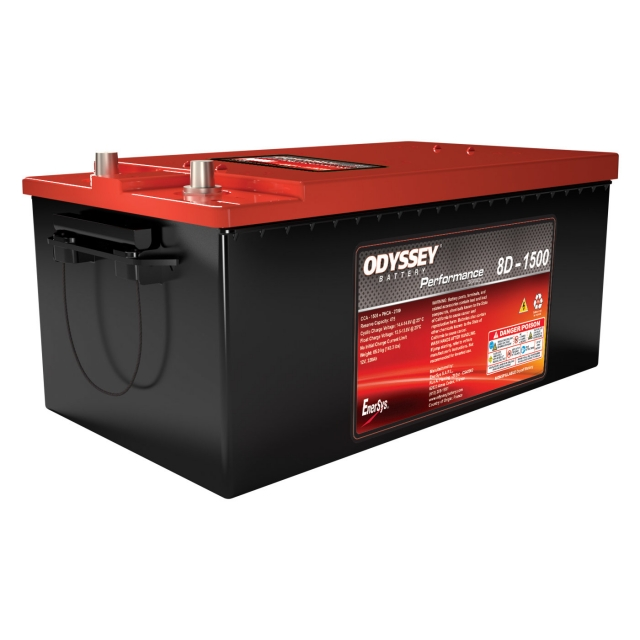 Odyssey Group Size 8D AGM Battery, ODP-AGM8D