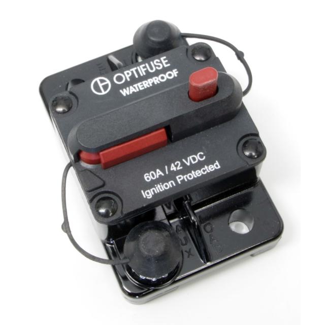 OPTIFUSE 60 Amp Circuit Breaker