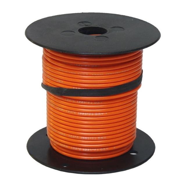 18 Gauge Orange Wire - General Purpose Primary Wire