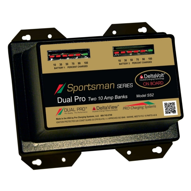 Pro Charging Systems Sportsman SS2 Dual Bank Battery Charger