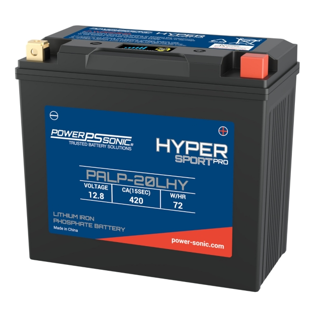 Power Sonic PALP-20LHY Lithium Iron Phosphate (LiFePO4) Power Sports Battery