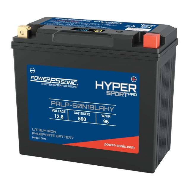 Power Sonic Hyper Sport Pro PALP-50N18LAHY LiFePO4 Power Sports Battery