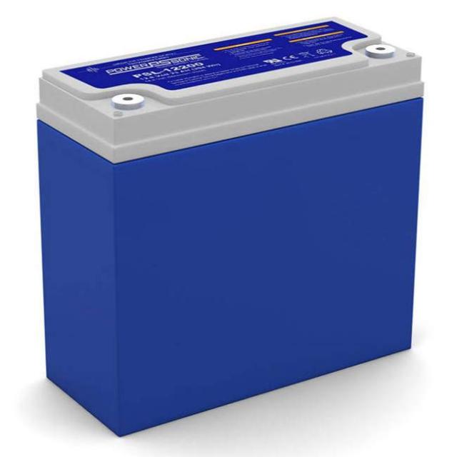 Power Sonic 12.8 Volt 23 Ah LiFePO4 Battery, PSL-12200