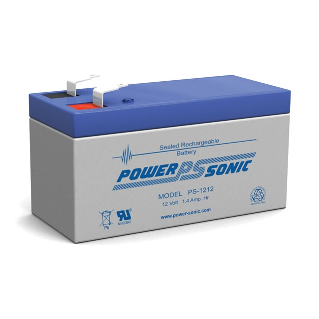 PS-1212 - 12 Volt 1.4 Ah Sealed Lead Acid Battery