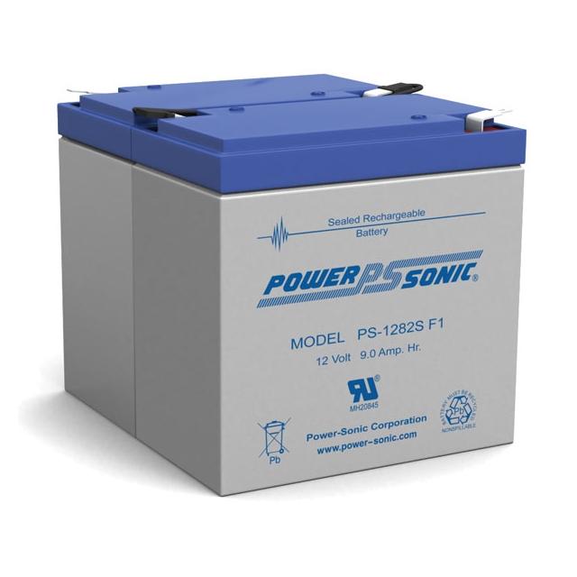 PS-1282S - 12 Volt 9 Ah Sealed Lead Acid Battery